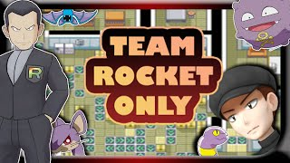 Can You Beat Pokemon Fire Red As A Team Rocket Member (Rom Hack: Rocket Science)