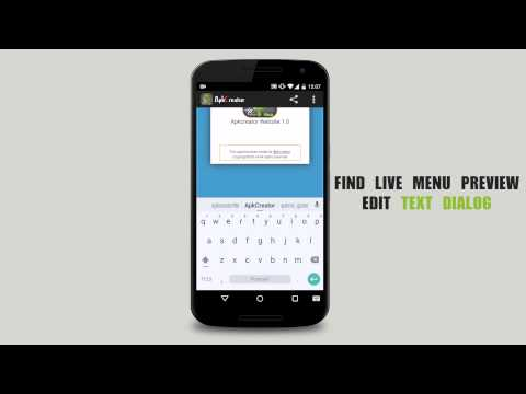 Video of ApkCreator - Web2App Pro