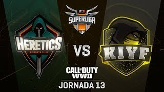 TEAM HERETICS VS KIYF ESPORTS | Superliga Orange COD | (Jornada 13)