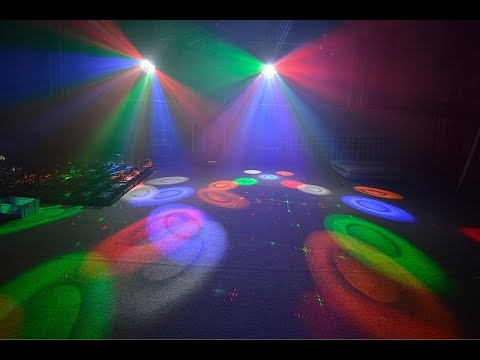 Эффект светодиодный многолучевой Led Star Circus III