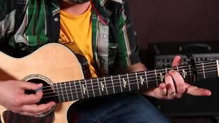 """Brandi Carlile """"Wherever is Your Heart"""" Chords and Rhythm Guitar Lesson, Easy chords, Acoustic"""