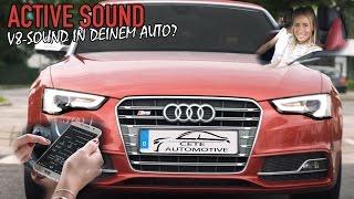 ACTIVE SOUND EXHAUST SYSTEM - So klingt auch dein Auto wie ein V8! 😱 (inkl. Einbau) [+ENG subtitles]