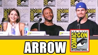 "Сериал ""Стрела"", ARROW Comic Con 2016 Panel Highlights (Pt1) - Stephen Amell, Emily Bett Rickards, Willa Holland"