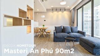 Review căn hộ Masteri An Phú 90m2 phong cách hiện đại