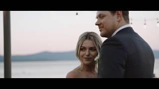 This Couples Intimate Fall Wedding Took Place Overlooking Lake Tahoe | Martha Stewart Weddings