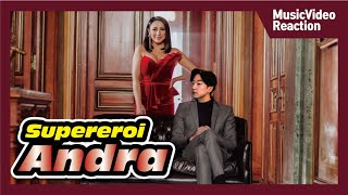 Andra   Supereroi (Official Video) [Reaction]