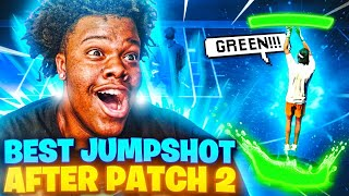 I FOUND THE BEST JUMPSHOT ON NBA2K21 AFTER PATCH 2! 100% UNLIMITED GREENS ON ANY BUILD! #NBA2K21