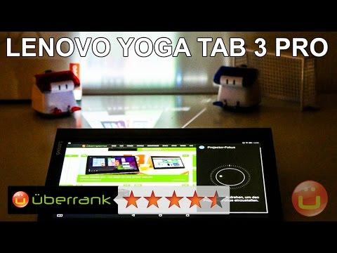 Lenovo Yoga Tab 3 Pro - Der ausführliche Test des besten Beamer-Tablets