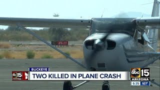Buckeye community mourning after deadly plane crash