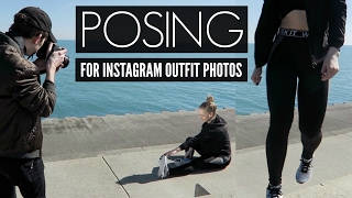 How To Pose For Outfit Photos | Behind The Scenes Fitness Photoshoot