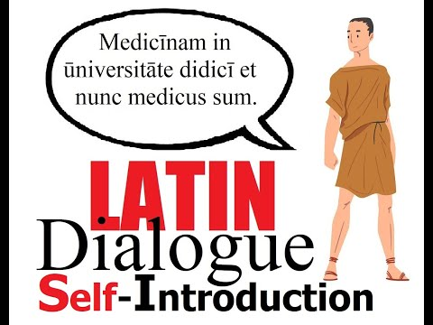 Latin Self-Introduction | Easy Latin Dialogue #3 | Easy Latin Lessons for Beginners