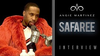 The Angie Martinez Show - BREAKING: Safaree Robbed At Gun Point & Shares Traumatic Experience w/ Angie Martinez