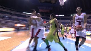Things Got A Little Heated Between Terrence Romeo And LA Tenorio! | PBA Commissioner's Cup 2017