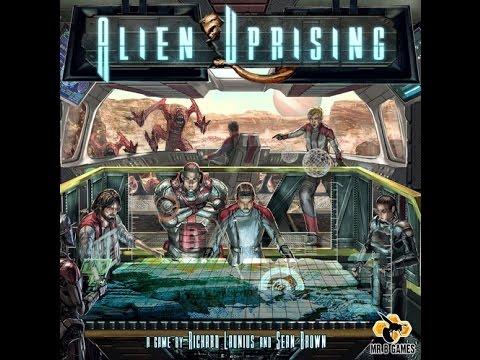 Board Game Brawl Reviews - Alien Uprising