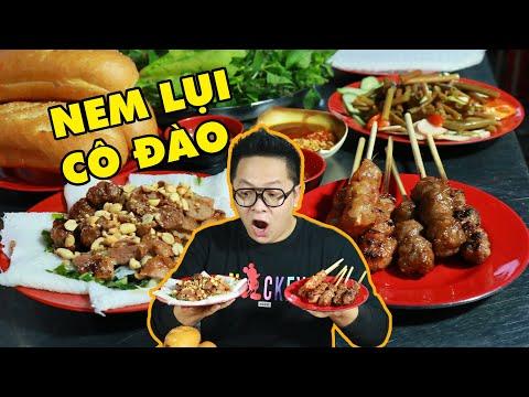 """Quán nem lụi """"chịu chơi"""" dùng nguyên liệu nổi tiếng phục vụ khách tại Sài Gòn"""