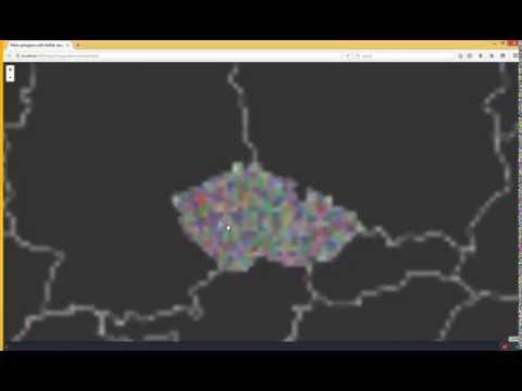 WebGL polygon triangulation with earcut js - bl ocks org