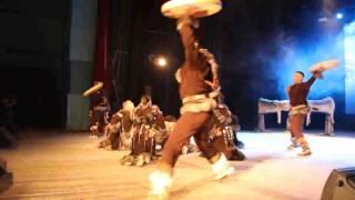 Шаманский танец ансамбля Эргырон
