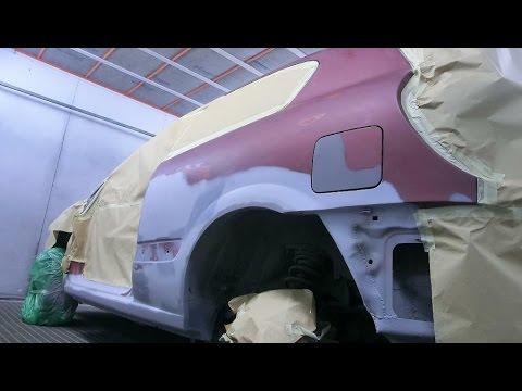 Ремонт порогов и арок (Nissan Almera)