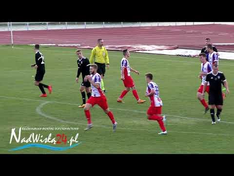 WIDEO: Wisła Sandomierz - Jutrzenka Giebułtów 1-0 [SKRÓT MECZU]