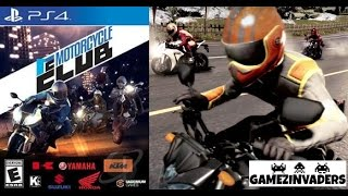 Motorcycle Club PS4 Game! PlayStation 4 Gameplay & Review