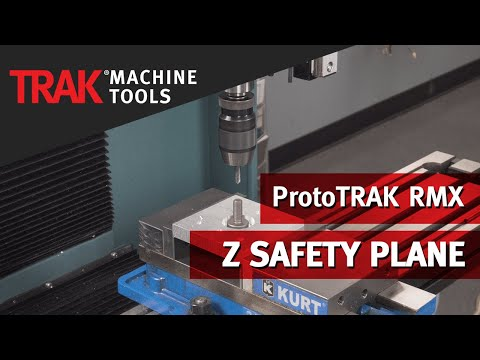 Z Safety Plane Option | ProtoTRAK RMX CNC | Basic Mill Programming