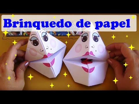 Fantoche de origami