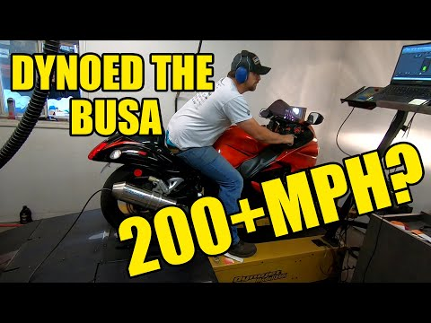 We Take The Busa To Get Dynoed. Can we hit 200MPH!