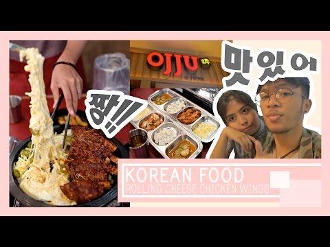 Video VLOG - ROLLING CHEESE CHICKEN WINGS KOREAN FOOD | OJJU JAKARTA