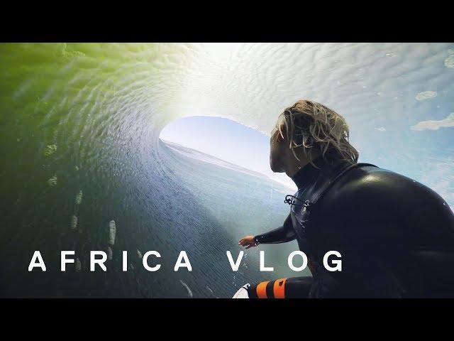 AFRICA Surf Trip |  Barrels with Koa Smith | Skeleton Bay (2018)