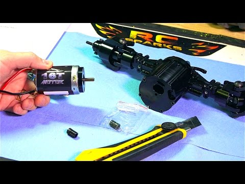 RC ADVENTURES - Building A 1/4 Scale 4x4 Killer Krawler 2 BV 3 - GiANT AXLES & Skid Plates