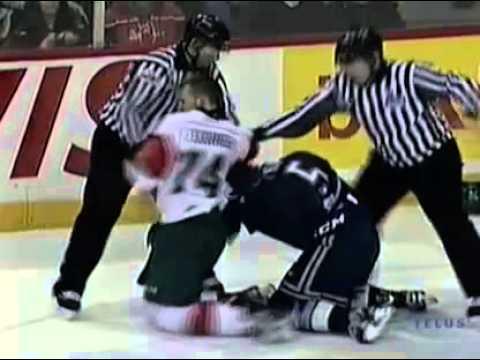 Stefan Fournier vs. Mathieu Laverdure