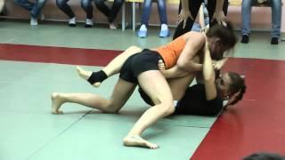 Александра Stitch Албу клуб MMA-KEGI, выступление на турнире Боец ВАО