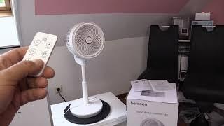 Standventilator mit 3D Oszillation - Berssen Standventilator - Ventilator