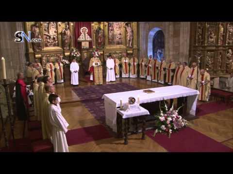 El Obispo de Osma-Soria preside la misa central en la jornada del Santo Patrón