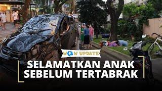 Kecelakaan Maut di Lippo Karawaci, Korban Sempat Selamatkan Sang Anak sebelum Tertabrak