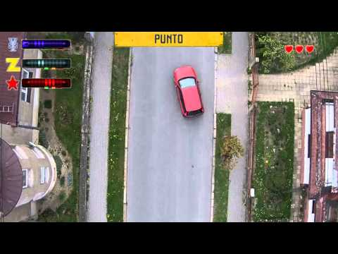 Old-School Top-Down View OfGrand Theft AutoRecreated In Real Life