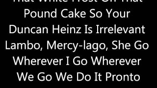 Kanye West- Mercy Ft. Big Sean, Pusha T, and 2 Chainz Lyrics
