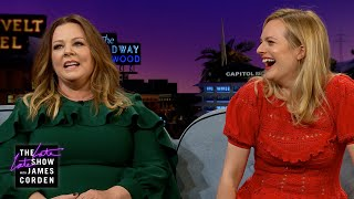 Melissa McCarthy Assumed Elisabeth Moss Was a Little Scary