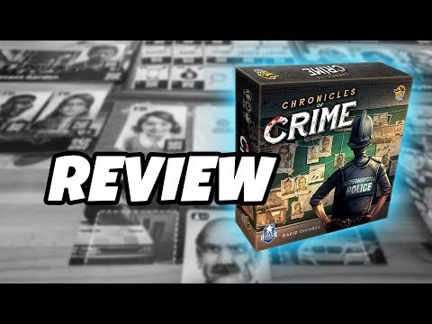 What's in the box...CHRONICLES OF CRIME
