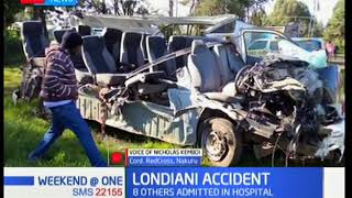 DEVELOPING STORY: Details of the grisly road accident at Londiani along Kericho-Nakuru highway