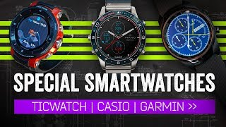 These Aren't Your Typical Smartwatches