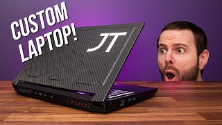 They Made Me A Custom Gaming Laptop!