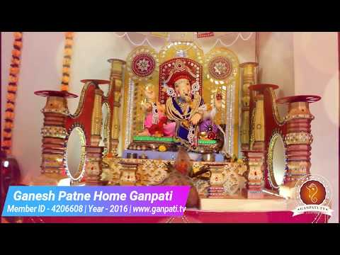 Ganesh Patne Home Ganpati Decoration Video