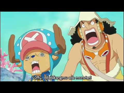 Luffy Haki Momen   YouTube