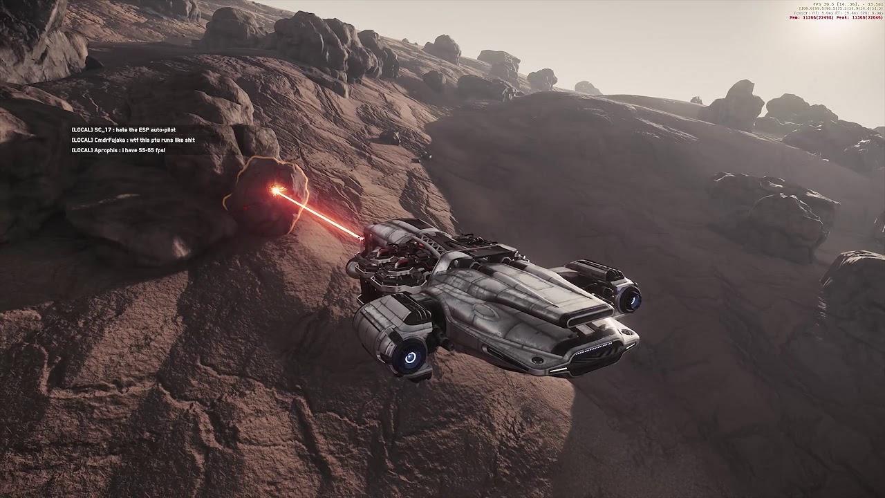 Star Citizen 3.2.1   Mining Gameplay