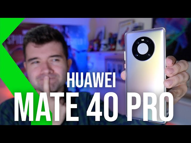 Huawei Mate 40 PRO Primeras Impresiones: HARDWARE CONTRA SOFTWARE