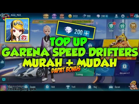 CARA TOP UP DIAMOND GARENA SPEED DRIFTERS Murah + Mudah