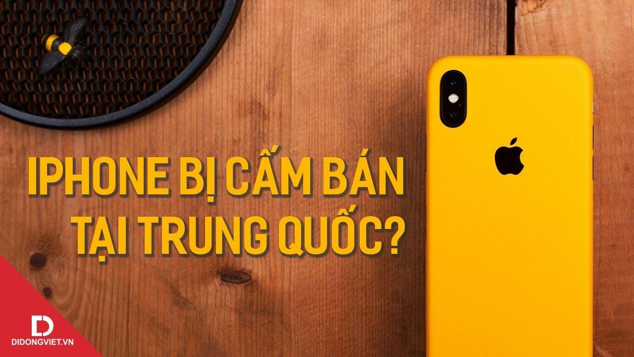 Chuyện iPhone bị cấm bán ở TQ ảnh hưởng thế nào đến Apple?