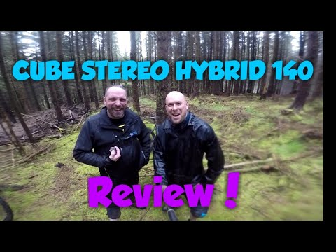 Cube Stereo Hybrid 140 2019 Review : ebike : Toby dog mtb