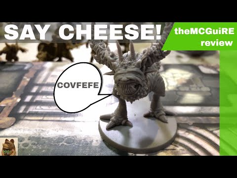 theMCGuiRE review looks at ZOMBICIDE: GREEN HORDE - kickstarter extras and add-ons